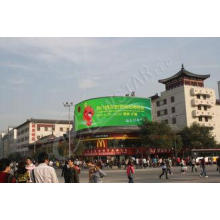 P16 Flexible LED Screen Soft LED Display Full Color For Nig