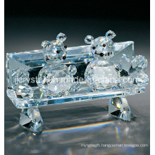 Crystal Glass Mouse for Holiday Gifts (JD-CT005) in China
