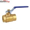 Guten Top handle lever 1000 WOG DN20 brass ball valve