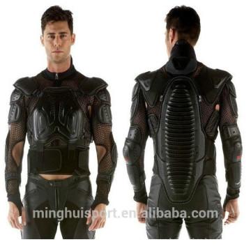 High ShockProof Motocross Armor Jackets Motorcycle Racing Leather Jacket