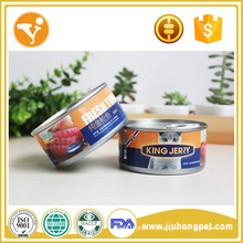 Oem Pet Snacks Tuna Flavor Healthy Food Cat Food Can