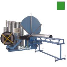 HVAC espiral red galvanizado conducto de aire que forma la máquina