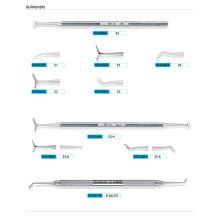 2014 Curetas dentales de la venta caliente / elevadores dentales (XT-FL021)