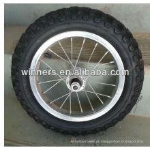 Alta qualidade Alto Desempenho Forte 12 polegada rodas de raios Pneumáticos
