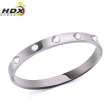 Fashion Jewelry Stainless Steel Rivet Bracelet