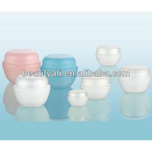 Tarro de crema transparente PP