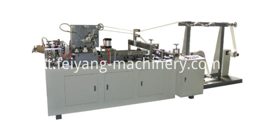 cold glue paper handle making machine