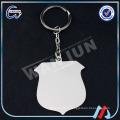 Fabricants de porte-clés promotionnels en Chine / WANJUN porte-clés en métal blanc fabricant de porcelaine