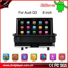 Coche DVD del androide 5.1 de 8 pulgadas para la navegación de radio de Audi Q3 Sistema de Hla 8860 DVD Navi