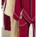 Canasin 5 Star Hotel Double Layer Bathrobe Luxury 100% cotton