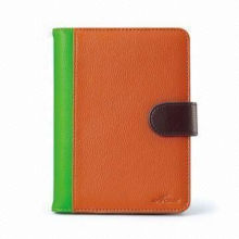 Custom Leather Kindle Fire Protective Case / Covers With Chic Accessory For Amazon Touch