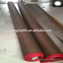 Productos famosos ptfe recubierto de alta temperatura cinta transportadora de teflón