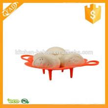 Altamente resistente ao calor BPA Free Silicone Food Steamer Colander Strainer Basket
