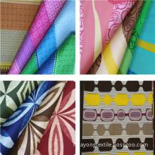 Microfiber bed sheet fabric
