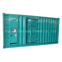 Generador diesel insonorizado de 480 Kw 600 kVA con Perkins 2806c-E18tag1a