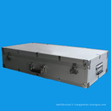 Boîtier en aluminium à haute qualité en aluminium dur, boîtes à outils en aluminium