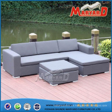 Muebles al aire libre tapizados del sofá de la tela al aire libre