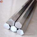 Barra hexagonal de liga de titânio ASTM B348 Gr5 de alto desempenho