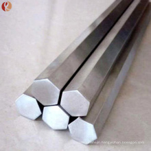 High performance ASTM B348 Gr5 titanium alloy hex bar