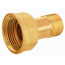 T2061 Высококачественный латунный фитинг для газопровода, резьбовой фитинг EN331 Квалифицированный латунный переходник