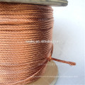 flexible bare copper wire roll for carbon brush