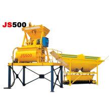 Mélangeur de béton JS750 à double axe Mélangeur