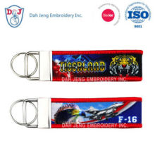 Sublimation + Embroidery Key Chain - Promotion Gift