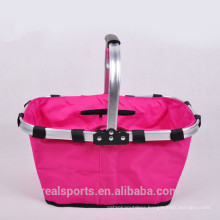 Rose Red Custom Cooler Bag On Wheels Portable Insulated Cooler Bag