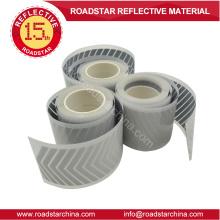 Transferencia de calor reflexivo plata cinta logotipo