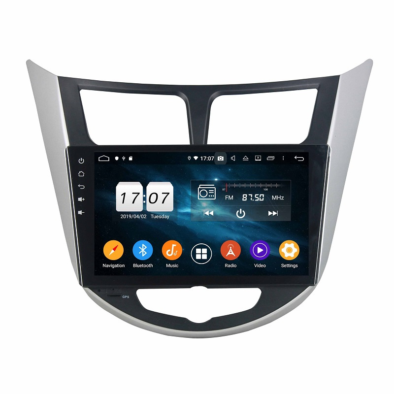 Hot sale bluetooth navigation for Verna 2011