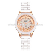 Yiwu поставщик простой керамической дамы оптовой наручные часы