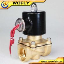 Válvula solenoide de agua de 2 vías de acero inoxidable 24V