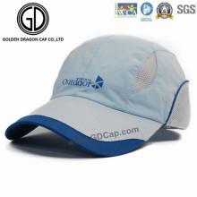 2016 Outdoor Leisure Breathable Golf Racing Sports Cap com impressa