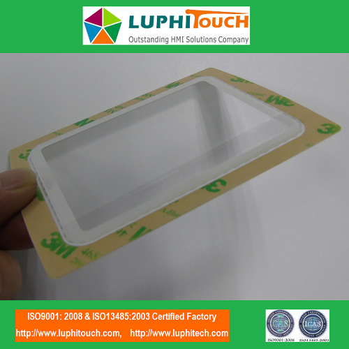 Clear Display Window OCA Lamination Lens Graphic Overlay