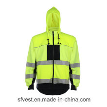 Sudadera con capucha Fr Alta Visibilidad Reflexivo Sweartshirt Material ignífugo Swearshirt