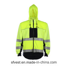 Hoodie Sweatshirt Fr High Visibility Reflective Sweartshirt Fireproof Material Swearshirt