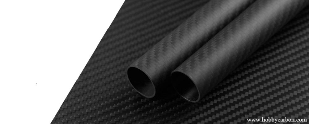 Carbon fiber tube&plate