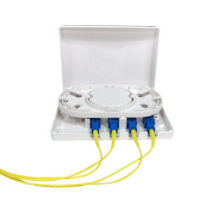 4 Ports SC Fiber Optic Terminal Box