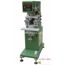 Double Head 1- Colour Pad Printing Machine for logo printing