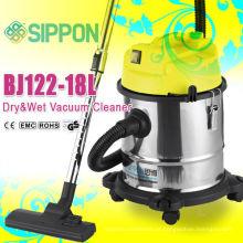 Água de alta qualidade do motor / limpeza da poeira Aço inoxidável molhado e aspirador a seco BJ122-18L / 1200W Eletrodoméstico / coletor de poeira