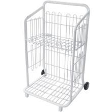Besteigen von Leitern der Dreipunkt mit gutem Preis Supermarkt Stahl/Stahl-Logistik-Warenkorb