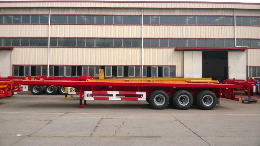 CIMC 40 '3-Axle Flatbed Semi-Trailer