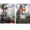 Máquina granuladora de plástico de duplo estágio para sucata dura ABS