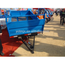Cheap price tractor drag two wheels 3 tons farm trailers for sale