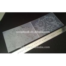 newest products plastic embossing folder 2015 hangzhou yiwu hot wholesale