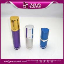 Embalagem de recipiente de acrílico recipiente de garrafa de loção para cuidados da pele