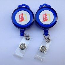 Пластиковые / Металлические выдвижные пользовательские удостоверения личности для удостоверения личности с логотипом Yoyo для ремней
