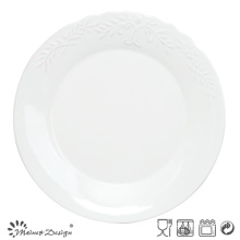 HOT SALE EMBOSSED AND ELEGANT COLORFUL DINNER PLATE
