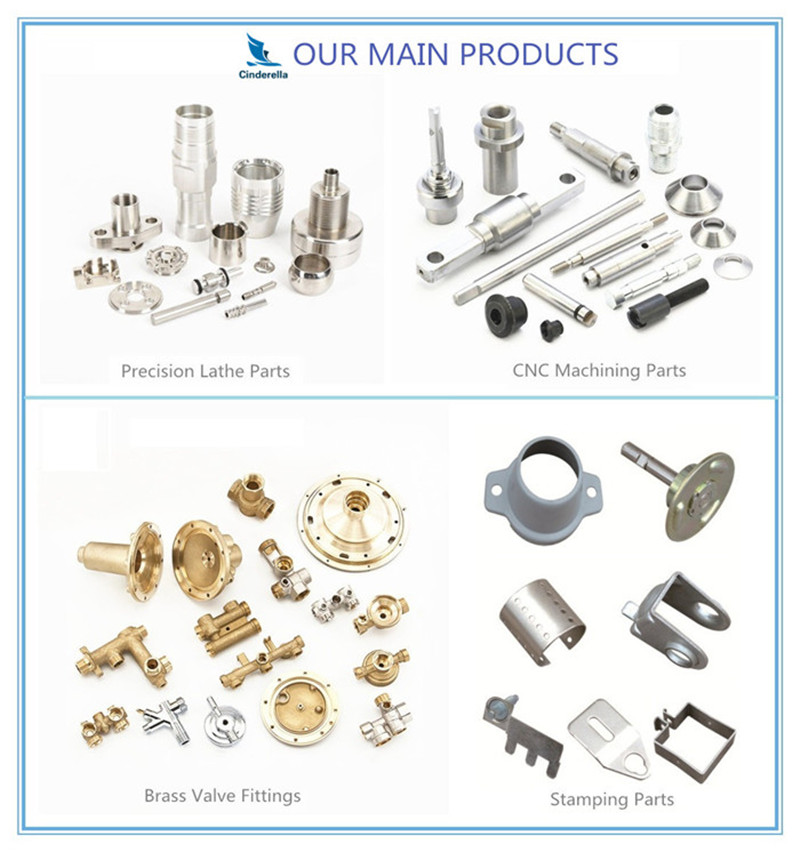 Customized CNC Machining Threaded Fastener Parts