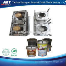High polished round food container mould